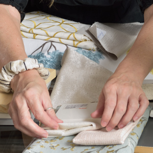 luxury materials for custom furniture and pillows